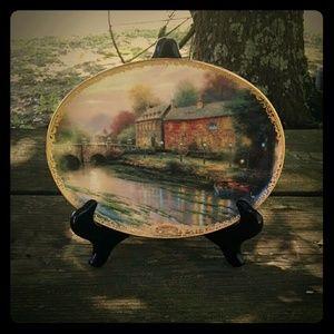 Thomas Kinkade Collectible Plate